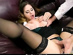 Big titted babe helps say no to CEO put someone down while at one's fingertips work 9