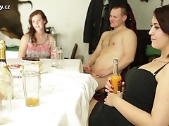 Awesoem orgy with czech titty infancy