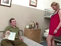 MILF Teacher Seduce Salad days to Fuck on Klassenfahrt