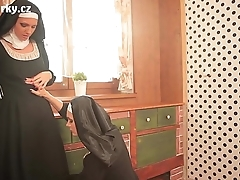 Comprehensive erotica with two sexy nuns