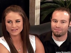 Brunette Housewife Fucks Another Man