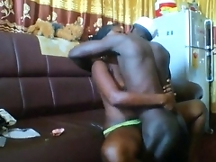 Ghana Koforidua guy fucks his girl hard 2