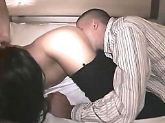 Howling MILFs suck cocks and cunts Pussies pounded by Black and White men