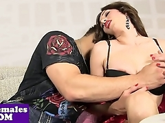 Bigtitted tgirl Ashley Paleta assfucked
