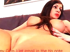 Clean Shaved Big Boobed Babe Waiting for Your Input