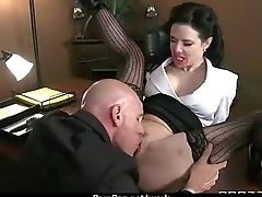 Office co-conspirator shows her bigwig her flexibility 3