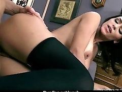 Office assistant shows her boss her pliancy 27