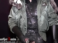 BlackLeatherHands In all directions DOUBLE PRINZ ALBERT