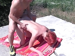 MyFirstPublic Public fucking in the woods