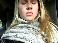 Public Pickup Sexy Euro Girl Acquiring Fucked For Cash Outdoor 30