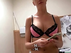 Public Pickup Sexy Euro Girl Getting Fucked Be expeditious for Cash Outdoor 29