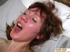 Mature Older Woman wide Younger Lover 18