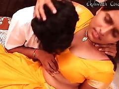 Shire Aunty With Tamil Munificent Man -- Telugu Romance Film - By MKJ