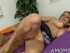 Fancy mature fucked doggy style