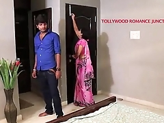 indian pulchritudinous teacher tempting to her student for romance.......telugu hot shortfilm