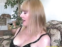 Cute angry mommy fucking with young gentleman