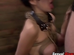 Bdsm submissive throating