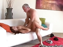 Teen stepdaughter nailed