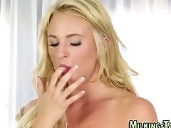 Masseuse gets creampied
