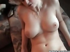 German Blonde Girlfriend Amateur Sex Video