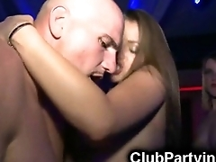Hot Assed Club Chicks Get Facials!