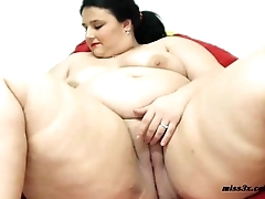 BBW mastrubation new toy test