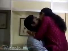 Horny mallu lovers caught having fun in office
