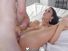 Exotic4k - Jackie Wood is enveloping lubed up and ready to fuck