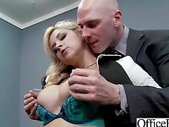 Sex Tape In Office With Busty Gorgeous Girl (sarah vandella) clip-27