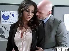 Sex Tape Down Office With Busty Gorgeous Girl (stephani moretti) clip-30