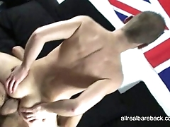 Hung Latin Breed Blond Twink