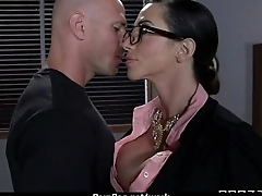 Big-tit latina boss fucks employee'_s hard-dick in office 28