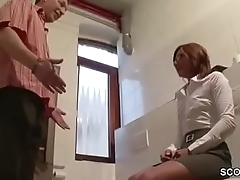 German HOT MILF connected with Lingerie get Hard Fuck by Stranger
