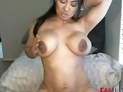 Latin Jazmine Torres with sexy body and big milky boobs