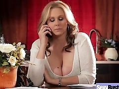 (julia ann) Horny Busty Wife Roughly Hard Style Bang Greater than Cam mov-14