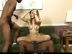 Hot girl with obese tits gets fucked hard 14